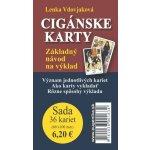 Karty - Cigánské karty karty brožúrka - Lenka Vdovjaková