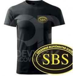cc9c57aefc6e Tričko s potlačou SBS 180g žltá pánske od 3