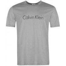 Calvin Klein Short Sleeve Logo Crew T Shirt grey