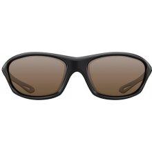 Korda Polarizační Sunglasses Wraps Gloss black/brown