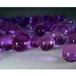 Vodné perly gélové guličky do vázy Fialové