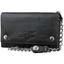 Exkluzívna kožená peňaženka GREENBURRY Black Wings s reťazou ef72c5caeb5