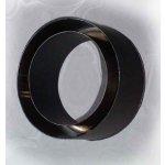 Komínová redukcia 150mm/120mm (1,5) Schidel čierna