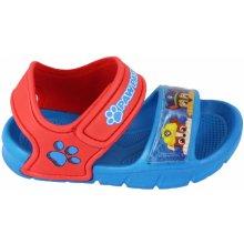 70b24e541e Disney by Arnetta Chlapčenské sandále Paw Patrol modré
