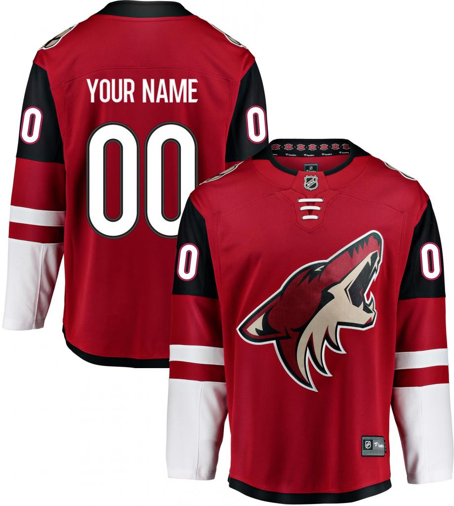 c9fd931e49678 Arizona Coyotes Breakaway dres domáci s vlastným menom a číslom od 219,99 €  - Heureka.sk
