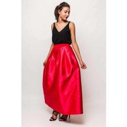 3eb60c8b4bf4 Dlhá elegantná sukňa červená od 34