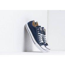 359885129bc2b Converse modré pánske kožené tenisky Chuck Taylor All Star OX Navy