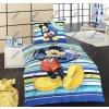 Matějovský Obliečky pre deti s obrázkom Mickey Mouse s pruhmi