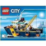 LEGO City 60095 Plavidlo pre hlbinný morský výskum