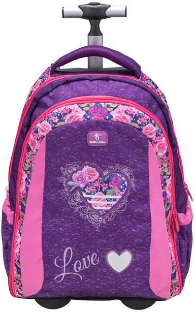 536aa2c4ee Školský batoh Belmil taška na kolieskach Rose - Zoznamtovaru.sk