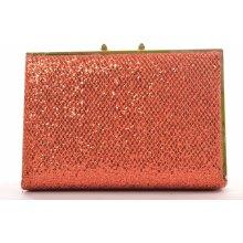 dámska spoločenská kabelka trblietavá červená a03284bbf3e