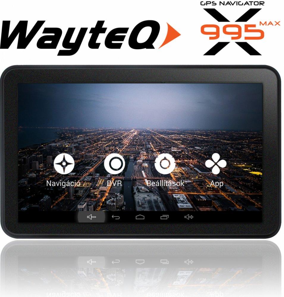 navigácia do auta WayteQ x995