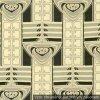 8958dadc5133 Secesný dekoračná látka Nemecko 1900-1910 (stĺpy) smotanová   čierna   sivá