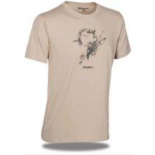 Blaser tričko s logom argali piesková