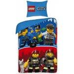 Halantex Obliečky Lego City bavlna 140x200 70x90