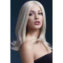 Fever Sophia Wig Blonde Long Layered with Centre Parting
