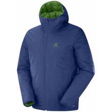 Salomon pánska bunda Drifter Loft Hoodie modrá zelená 3e581d4e52d