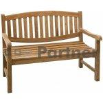 Zahradní nábytek teak lavice ALPEN 150 cm