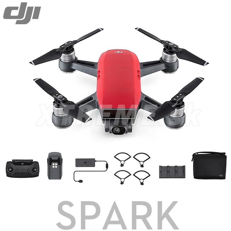 5f6ae7672 Dron DJI Spark, Fly More Combo, Lava RED - DJIS0203C - Zoznamtovaru.sk