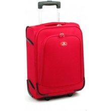 David Jones 2000 cestovný kufor malý 35x20x49 cm Červená