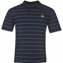 Dunlop Stripe Polo Mens Navy/Blue