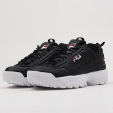 8dbb2835cdc75 Fila Disruptor M Low Wmn Black