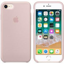 Recenzie Púzdro Apple iPhone 7 Silicone Case - Sand ružové - Heureka.sk bf317738155