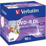 Verbatim DVD+R 8,5GB 8x, 10ks