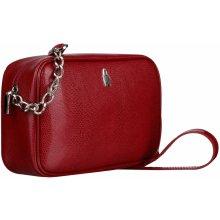 959ee20cc4c62 Wojewodzic malé kožené kabelky na plece 31747/ červené
