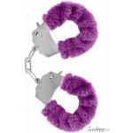 Pouta Toy Joy fialová Furry fun Cuffs Purple Plush