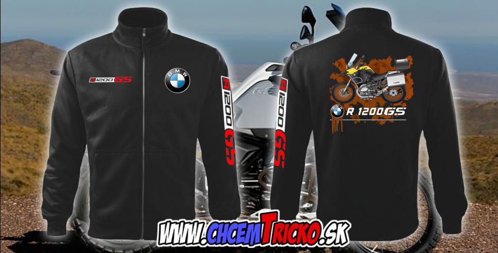 Mikina a sveter Mikina BMW R1200GS na zips - Zoznamtovaru.sk dbc7a0fedbc