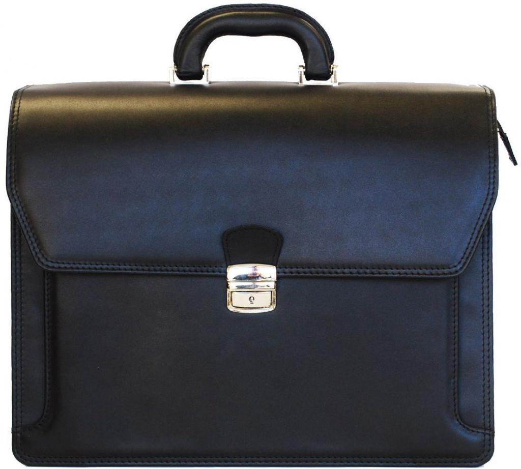 cac28f1d52 Taška a aktovka luxusná kožená aktovka z pravej hovädzej kože č.8418 ...