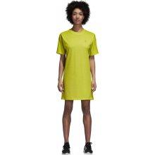 4f180be60a9d Dámske šaty adidas Originals TEE DRESS Žltá