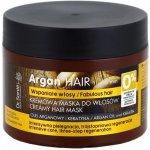 Dr. Santé Argan krémová maska pre poškodené vlasy (Argan Oil and Keratin, Intensive Care, Tree-Step Regeneration) 300 ml