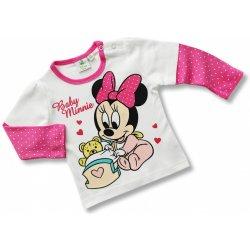 2497fef68 Recenzie Disney kojenecké tričko pre dievčatá - Minnie, biele ...