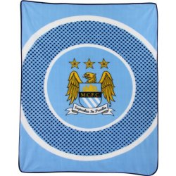 eam Fleece Blanket Man City