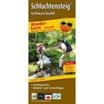 PublicPress Leporello Wanderkarte Schluchtensteig Schwarzwald