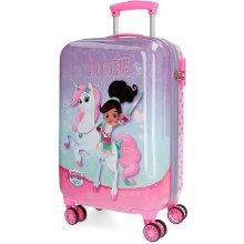 3c5287ad84ad1 JOUMMABAGS ABS kufor Princezná Nella a jednorožec lila ABS plast, 33l