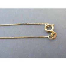 4fc13ef46 MARM Design Zlatá retiazka spájaný vzor žlté zlato DR45103Z