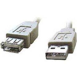 Kábel USB 2.0 A/A predlžovací 4,5m