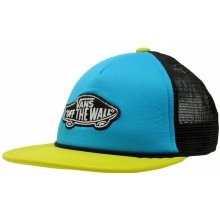 Vans Patch Junior Boys Trucker Cap Caribbean/Lime