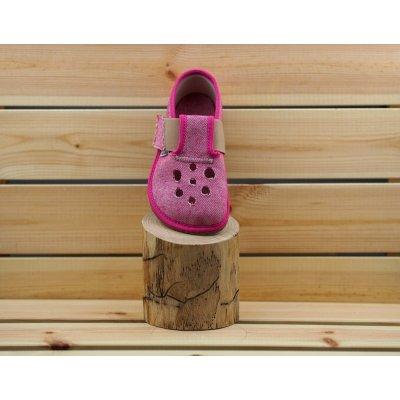 Pegres přezůvky barefoot BF03 RŮŽOVÉ