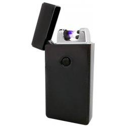 LIGHTER USB 5057 Plazmový USB zapaľovač čierny od 13 6ce4cffb20e
