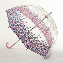 55d82cce4 Fulton dětský průhledný holový deštník Cath Kidston Funbrella 2 MEWS DITSY  BORDER C723 + dárek