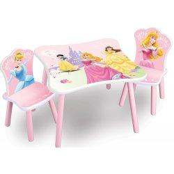 c58df1795af3 FORCLAIRE Detský stolík so stoličkami Princess 2 alternatívy ...
