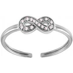 iZlato Forever Diamantový prsteň na nohu Be Happy 9DM0035 od 177 8189978e41c