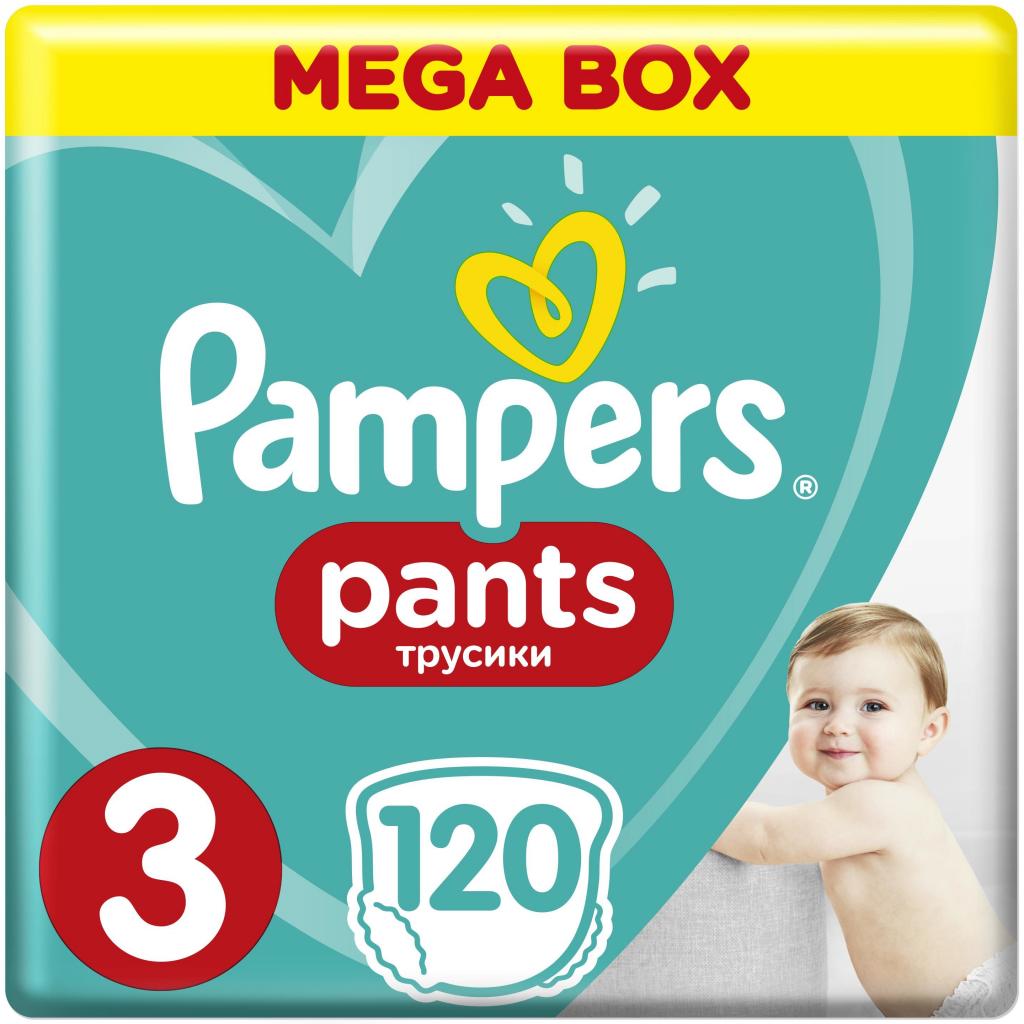 Pampers Pants 3 midi 6-11 kg 120 ks