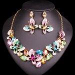 0c31d3daf Swarovski Elements Farebný náhrdelník Ivy SW013