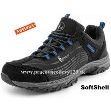 CXS SPORT softshellová obuv, čierno-modrá