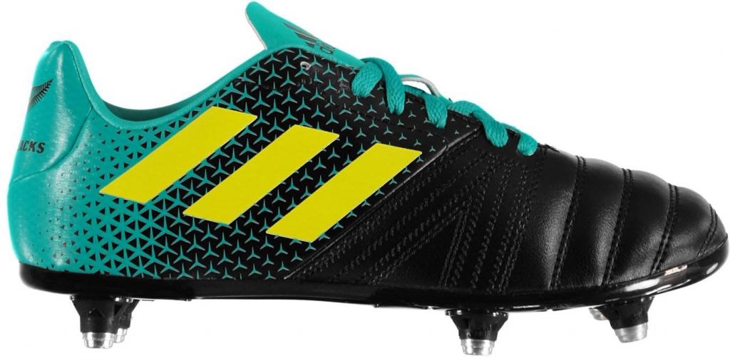 7cf8d6338b43 Kopačky na rugby Adidas Kakari All Blacks SG Junior Rugby Boots ...